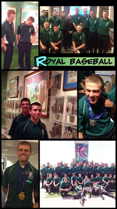 Reagan Library touring the Baseball exhibit and listening to Olympian Derek Parra speak.