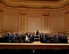 Performing at Carnegie Hall 2015